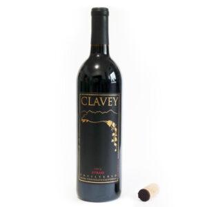 2015 Syrah Clavey Wine